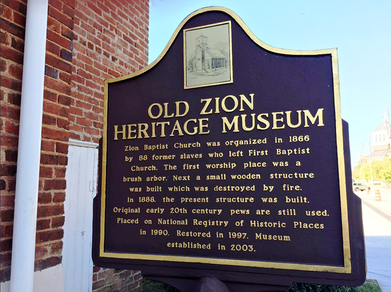 Old Zion Heritage Museum