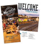 Marietta Destination guide 2020 cover and interior